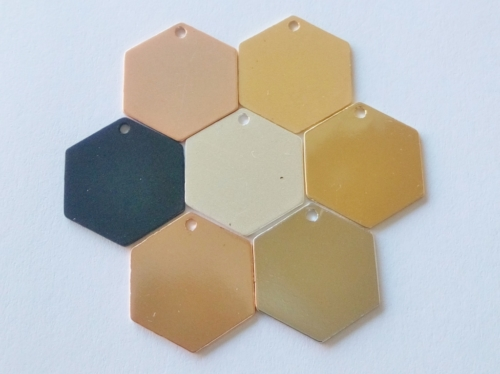 Letali bedel zeshoek hexagon 13x12 mix