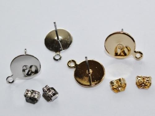 Letali boucle d'oreille avec anneau 10mm