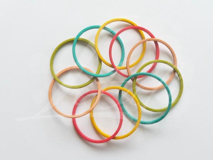 Letali bedel_tussenstuk cirkel 22mm rubber mix