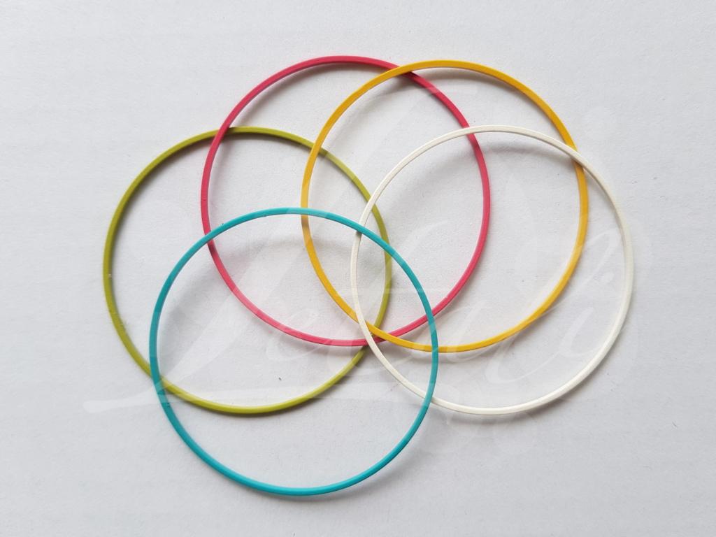 Letali bedel_tussenstuk cirkel 50mm rubber mix