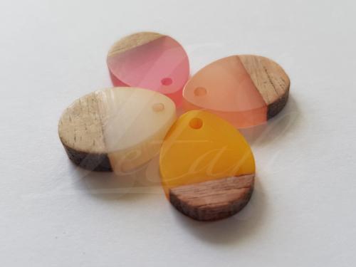 Letali hars en hout bedel kleine druppel x x mm mix