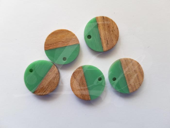 Letali hars en hout bedel rond klein x mm groen