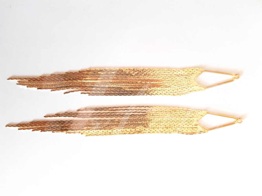 Letali goudkleurige bedel kwastje_125x13mm_
