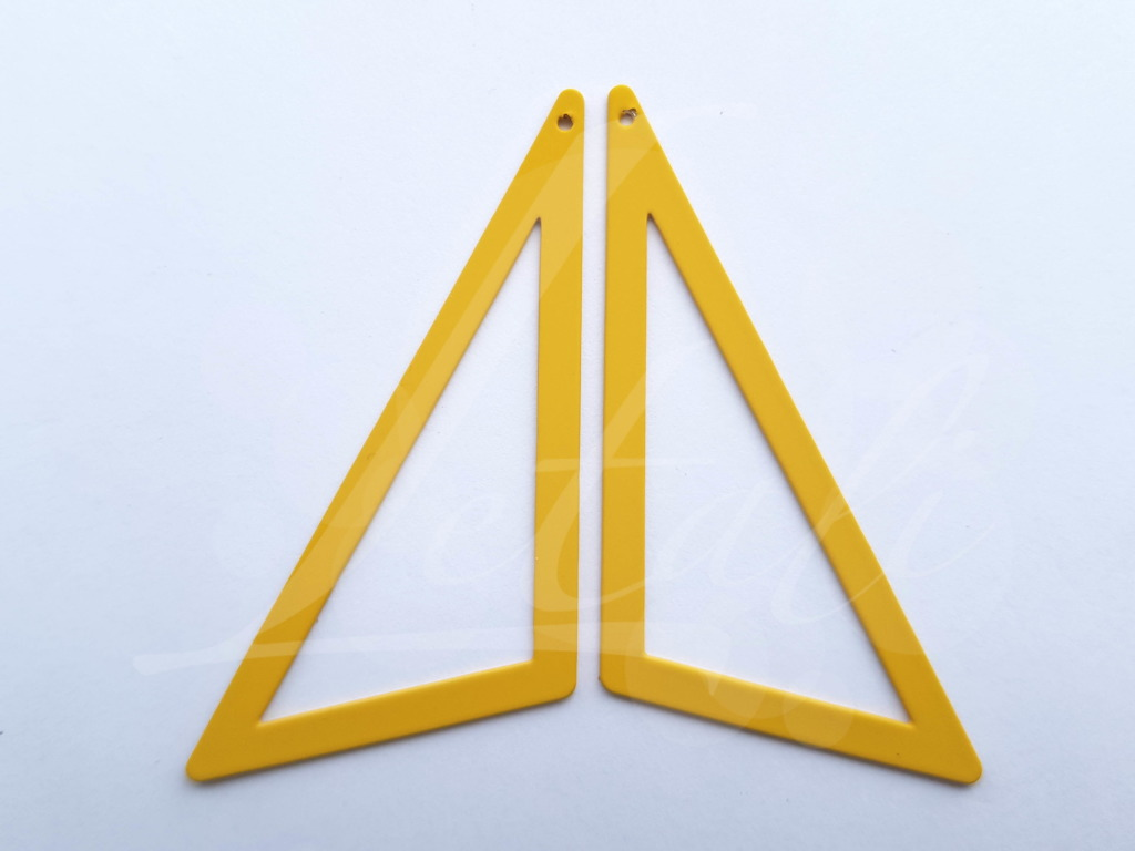 Letali bedel asymmetrische bedel groot_65x50x32_rubber oker geel