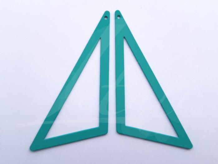 Letali bedel asymmetrische bedel groot_65x50x32_rubber turquoise
