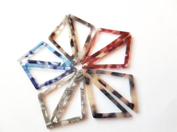 Letali kunsthars bedel 39x17x2.5 open driehoek mix_